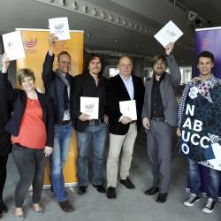 Gruppenfoto Theater+Hochschule+Agentur©HaraldKoch