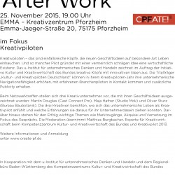 Einladung Creative After Work_25.11.2015